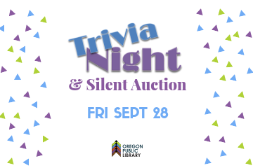 Trivia Night & Silent Auction Friday, September 28