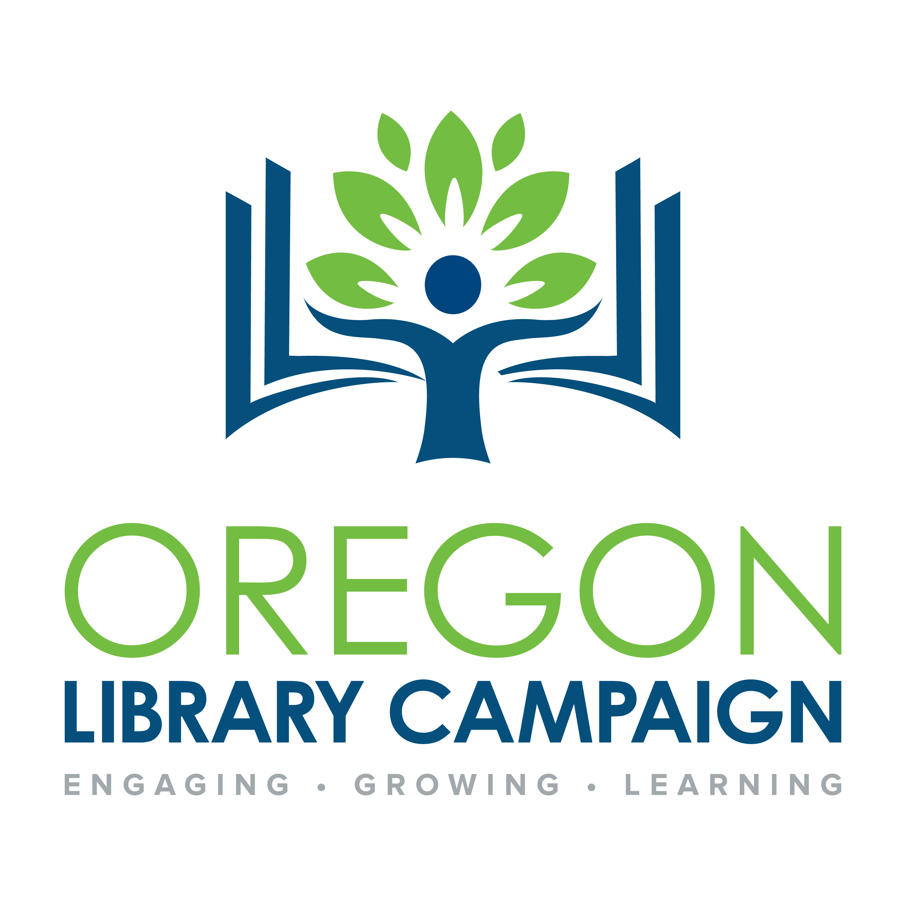 Oregon Library Capital Campaign Logo
